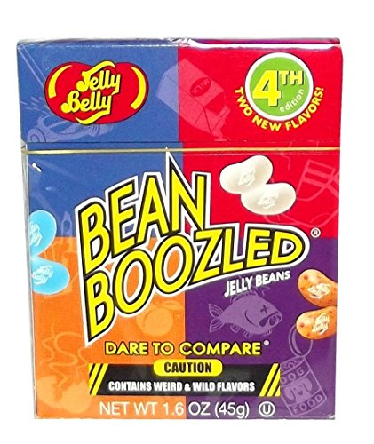 Jelly Belly Bean Boozled 4th Edition Box, 1.6 ounces X 2 Boxes