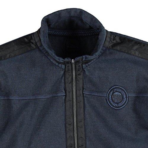 engbers Herren Sweatjacke in modischer Färbung, 24662, Blau