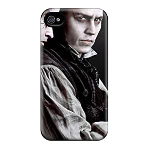 New Sweeney Todd Movies Tpu Skin Case Compatible With Iphone 4/4s