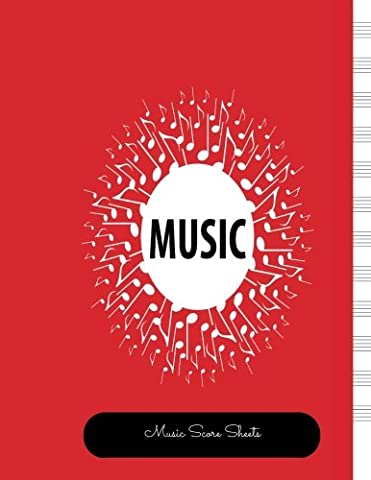 Music Script Paper: Empty Staff, 12 Stave Manuscript Sheets Notation Paper For Composing For Musicians,Teachers, Students, Songwriting. Book Notebook Journal 100 Pages (The Script Sheet Music)