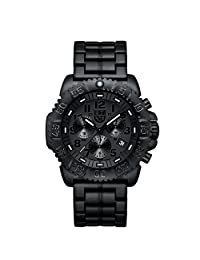Luminox Men's 3082.BO Colormark Chronograph Analog Display Analog Quartz Black Watch