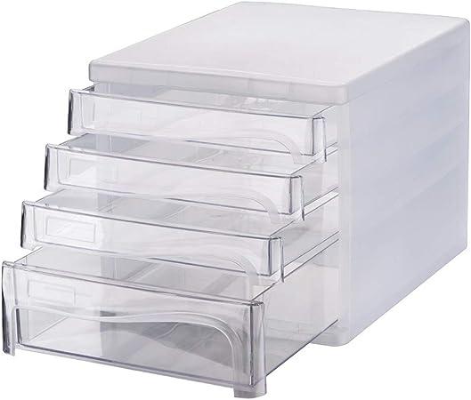 ZoSiP Archivador de Oficina Almacenamiento Documentos Oficina Mini Archivador Gabinete De Alimentación De Escritorio Caja De Almacenamiento De Archivos: Amazon.es: Hogar