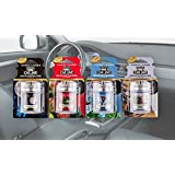 6 x Official Yankee Candle 3D Car Jar Ultimate Air Fresheners Assorted Scents