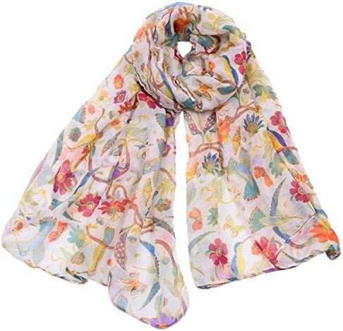 Woogwin Womens Cotton Scarves Fashion product image