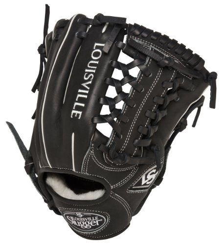 (Louisville Slugger 11.5-Inch FG Pro Flare Baseball Infielders Gloves, Black, Right Hand Throw)