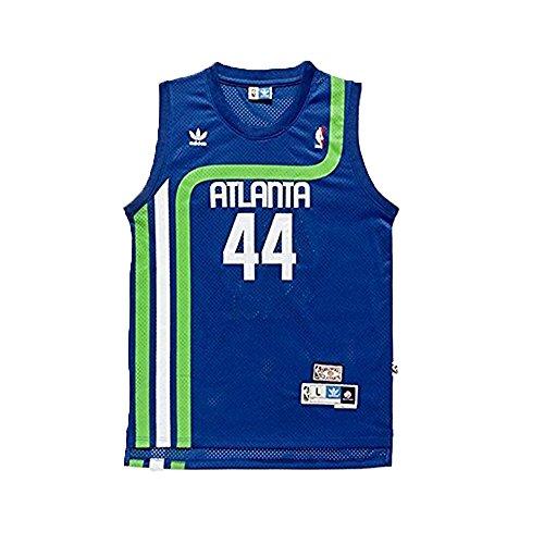 Pete Maravich #44 Atlanta Hawks Adidas Hardwood Classics Youth Jersey (Large)