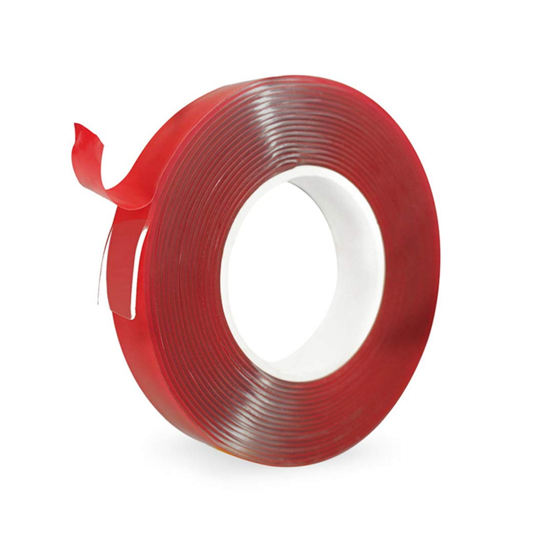 Acrylic Double Sided Clear Tape,Strong Mounting Adhesive Tape for Glass,Car,Home,Workshop - Maximum Bonding Strength