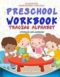 Preschool Workbook: Tracing Alphabet Uppercase and Lowercase: Tracing Alphabet: Uppercase and Lowercase