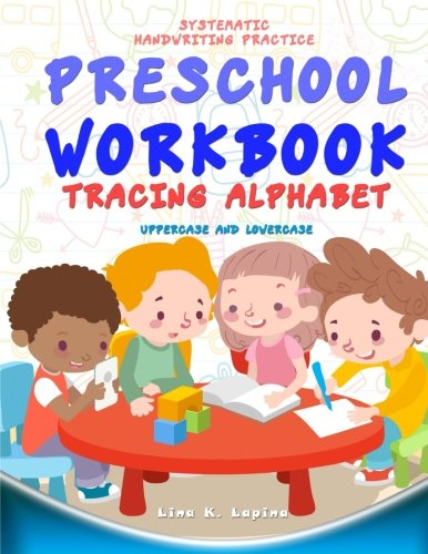 Preschool Workbook: Tracing Alphabet Uppercase and Lowercase: Tracing Alphabet: Uppercase and Lowercase