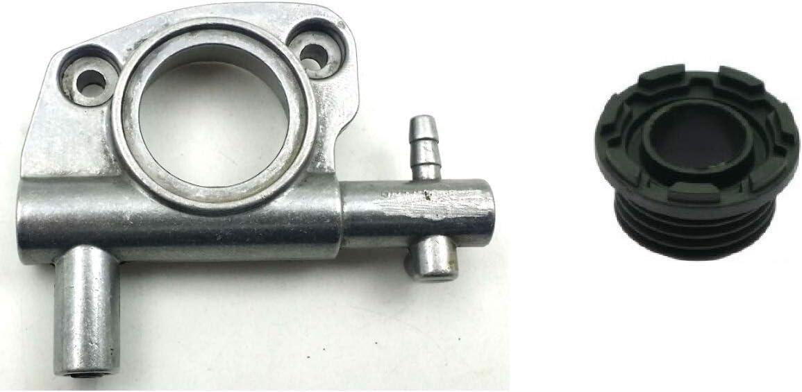 Bomba Aceite Cadena compatible + Tornillo Sin Fine Original eMac para motosierra Oleo Mac 936 940 947 952 Ed efcho 136 140 147 152 Oil pump  compatible con motosierras originales o Cloni