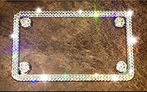 Bling License plate frame, Swarovski License plate, Bling License plate frames for women, Bling License frame, Swarovski care plates by AllureDesignz