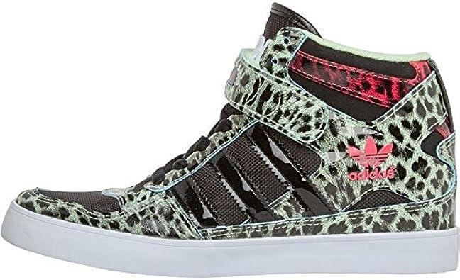 Adidas Chaussure Femmes Motif Léopard *RARE * Noir Vert