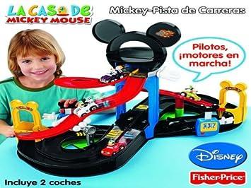 Mickey - Pista De Carreras: Amazon.es: Juguetes y juegos