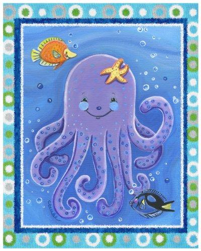 Sea Life, Ocean Animal Nursery Art Prints (16x20