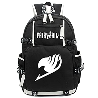8b790d566c delicate Gumstyle Fairy Tail Luminous Backpack Anime Book Bag Casual School  Bag