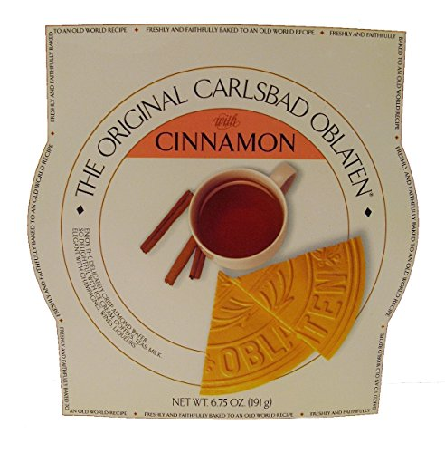The Original Carlsbad Oblaten with Cinnamon 6.75 Oz. Gift Tin
