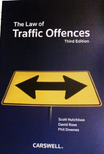 The Law of Traffic Offences