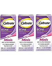 Caltrate Calcium & Vitamin D3 Supplement 600+D3 Plus Minerals Chewable Tablet, 600mg
