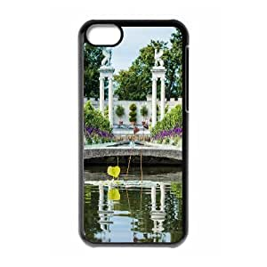 Iphone 5C Case, untermyer park Case for Iphone 5C Black