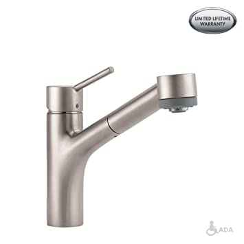 Talis S 2 Spray Kitchen Faucet Pull Out 1 75 Gpm Touch On
