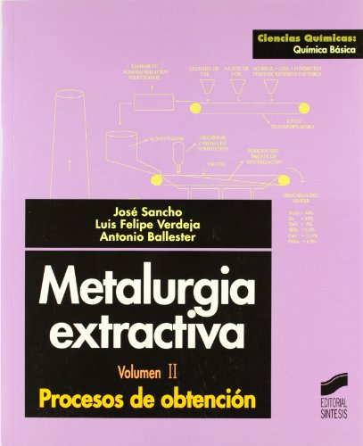 Descargar Libro Metalurgia Extractiva: Vol.ii Antonio Ballester Pérez