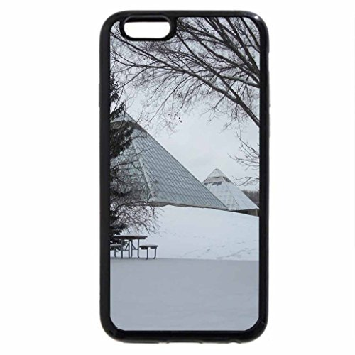 iPhone 6S Case, iPhone 6 Case (Black & White) - Global warming 22