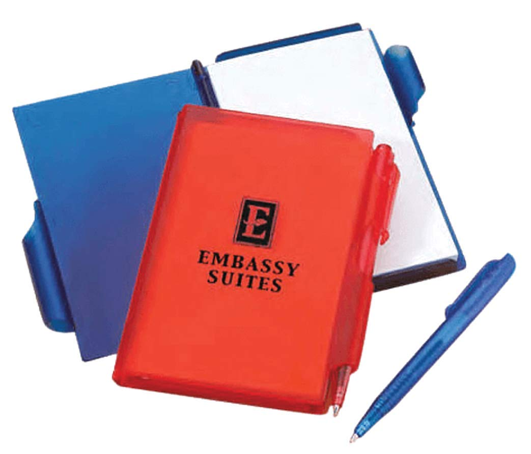 Compact Notebook– 200 Quantity – 1.35 Each/PROMOTIONAL/IMPRINTED with your LOGO/Bulk, Branded & Customized by Kayzee Promos (Image #1)