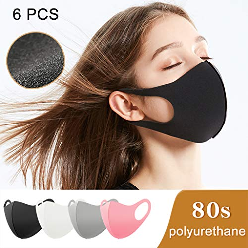 Coverhome Anti Pollution Mask Protection Dust Pollution Mask Lot Washable Earloop Masks Anti Dust Cycling Mouth Face Mask Unisex Outdoor Black