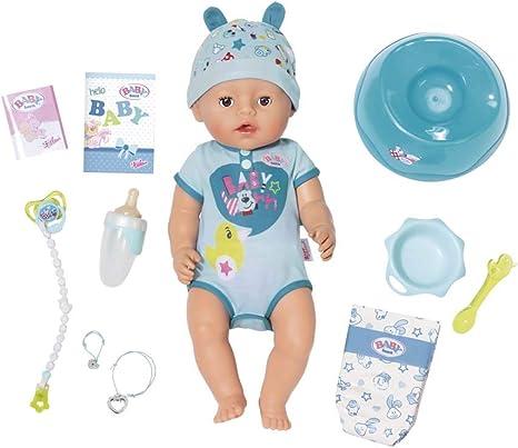 Zapf Creation 825969 Muneco Interactivo Para Bebe Nacido Amazon