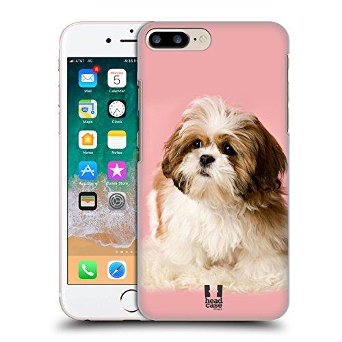 (Head Case Designs Shih Tzu Puppy Popular Dog Breeds Hard Back Case Compatible for iPhone 7 Plus/iPhone 8 Plus)