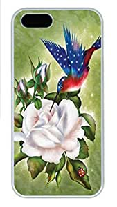 For SamSung Galaxy S5 Mini Phone Case Cover Star Spangled Flight Hummingbird PC Hard Plastic For SamSung Galaxy S5 Mini Phone Case Cover Whtie