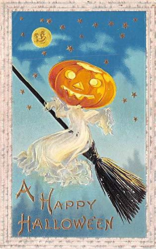 Halloween Post Card Old Vintage Antique Samson Bros 1911]()
