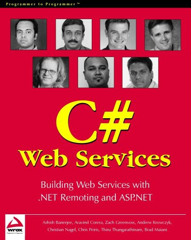 Professional C# Web Services: Building .NET Web Services with ASP.NET and .NET Remoting by