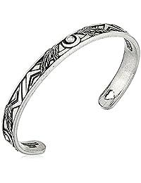 Alex and Ani Godspeed Cuff Rafaelian Silver Bangle Bracelet