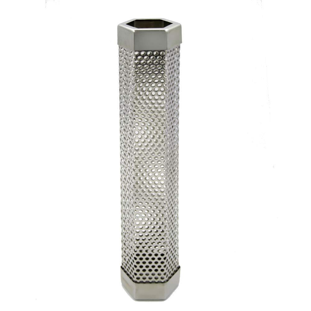 Amazon.com: AIWANT Smoker BBQ Tube Perforated Strong Smoke ...