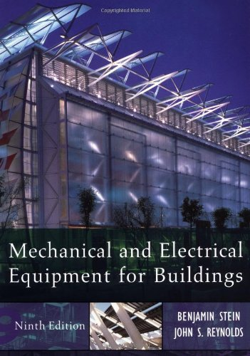 Mechanical and Electrical Equipment for Buildings: 9th (nineth) Edition