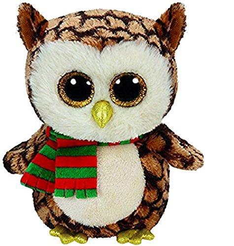 Beanie Baby Owl (Ty Beanie Baby-ty36173-plush-beanie Boo' S-small-wise Owl)