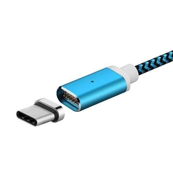 Nylon Trenzado 3M/10ft Cable magnético Gen 4, Tipo C ...