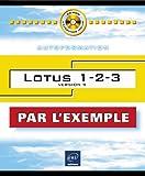 Lotus 1.2.3, version 9, disquette d'exemples incluse