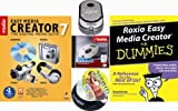 Roxio Easy Media Creator 7 Bundle [Dummies Book, USB Mini Drive, DVD+R Media]: more info