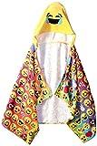 Emoji Pals Rainbow Hooded Towel, Multicolor
