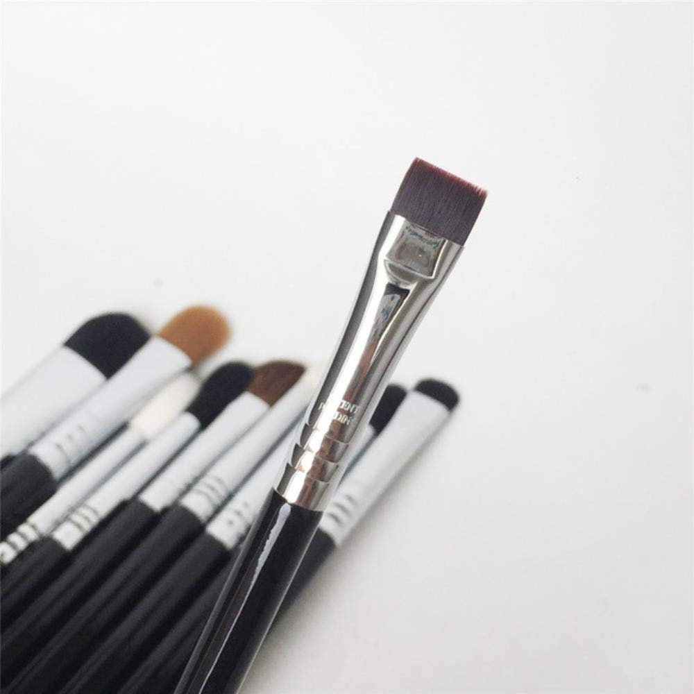 SI-SERIES Eye Brushes - Qaulity Eyeshadow Eyeliner Tapered Blending Smudger Pencil Shader Shading Makeup Brushes Blender Tool,E15 FLAT DEFINER by Edwiin Cotton