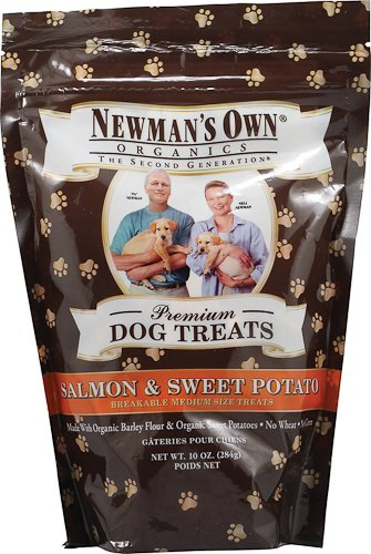 Newman's Own Organics Premium Dog Treats Salmon and Sweet Potato — 10 oz, My Pet Supplies