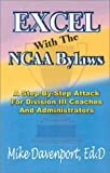 Excel with the NCAA Bylaws, Mike Davenport, 0963930060