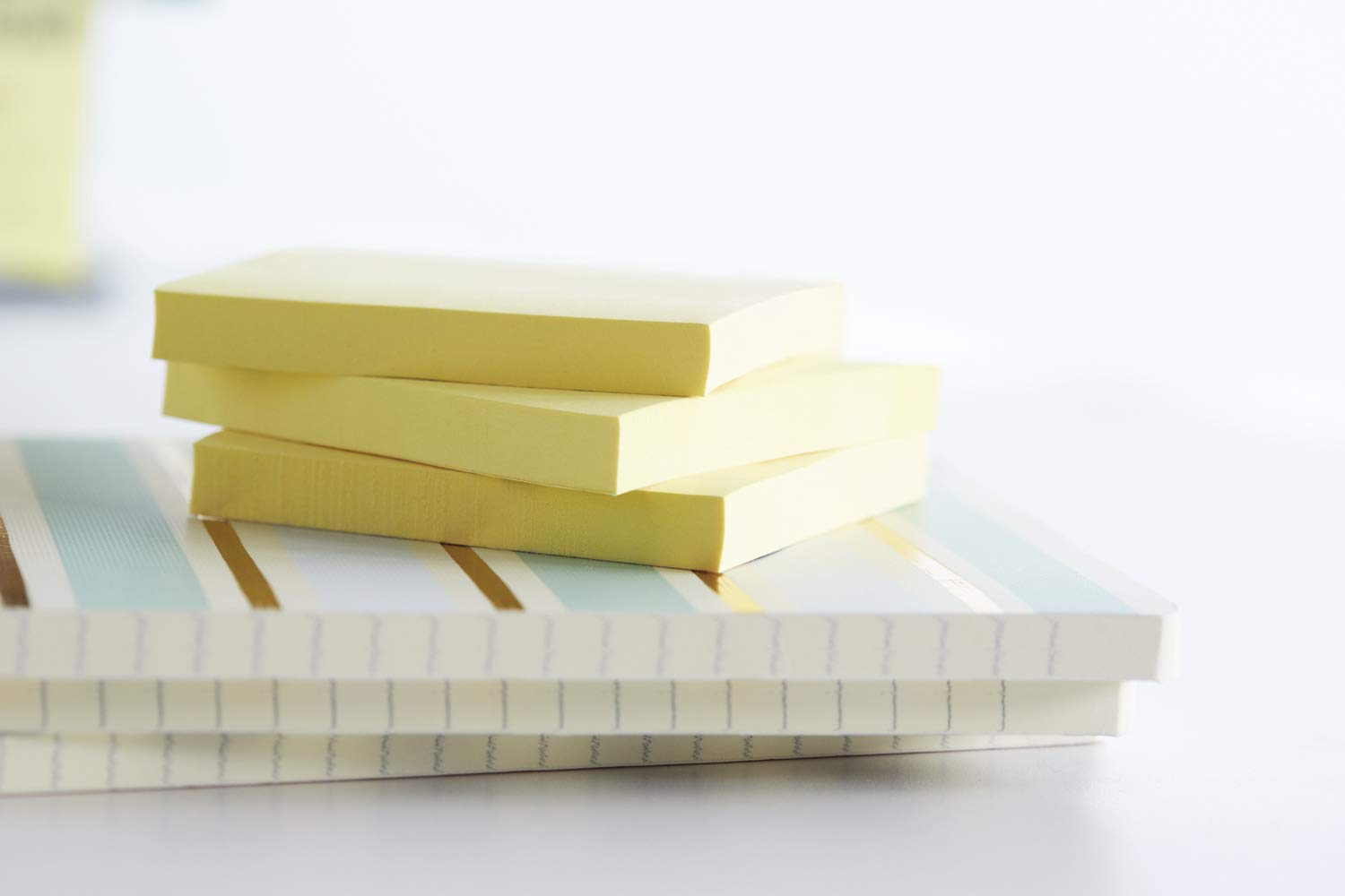 Highland Notes, 3 x 3-Inches, Yellow, 24-Pads/Pack (3)