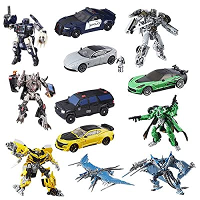 Transformers The Last Knight Premier Deluxe Wave 4 SET