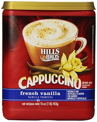 hills-bros-cappuccino-french-vanilla-16-ounce-pack-of-6-by-hills-bros