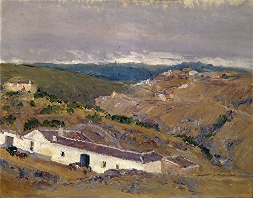 The Perfect Effect Canvas Of Oil Painting 'Beruete Y Moret Aureliano De Venta Del Macho Toledo 1911 ' ,size: 16 X 20 Inch / 41 X 52 Cm ,this High Definition Art Decorative Canvas Prints Is Fit For Hallway Decor And Home Gallery Art And Gifts