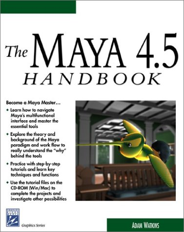 the-maya-45-handbook-with-cd-rom-graphics-series