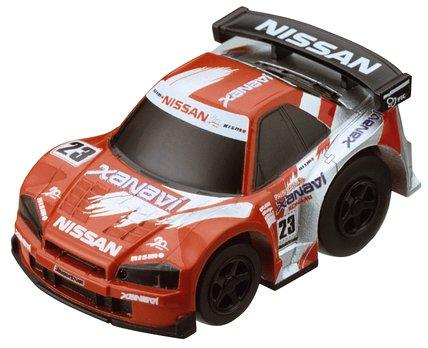 超リアルサーキットチョロQ シリーズ1 ザナヴィニスモGT-R #23(レッド×シルバー)